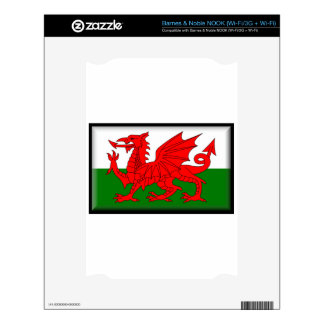 Wales Flag Decals For The NOOK