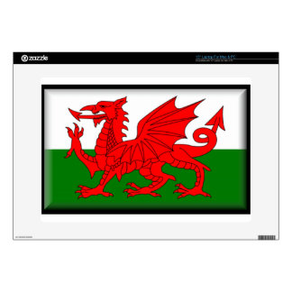 Wales Flag Laptop Decals