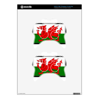 Wales Flag Xbox 360 Controller Decal