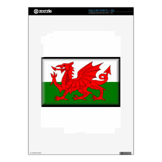 Wales Flag Skin For The iPad 2