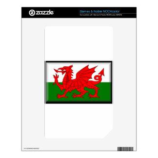 Wales Flag NOOK Color Skin