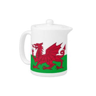 Wales Flag Teapot