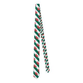 Wales Flag Tie