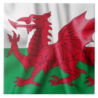 Wales Flag Tile