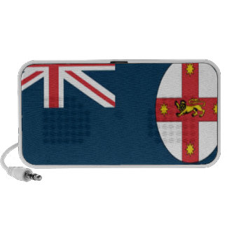 Wales flag travelling speaker