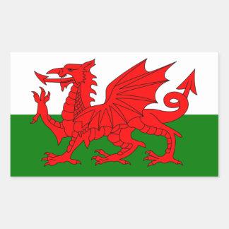 Wales Flag United Kingdom Great Britain Sticker
