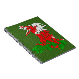 Wales Home of Rugby Notebook