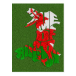 Wales Home of Rugby Post Cards
