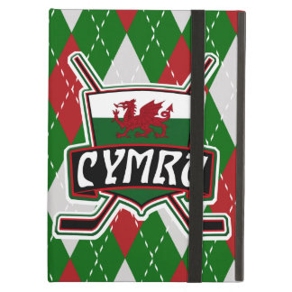 Wales Ice Hockey Flag Tablet Cover iPad Air Case