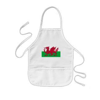 wales kids' apron