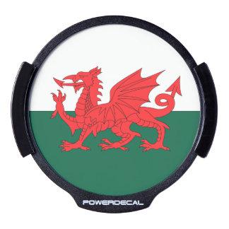 Wales LED Car Window Decal