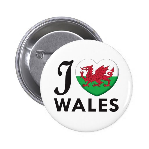 Wales Love Buttons