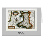 Wales Map and/or Flag Greeting Cards