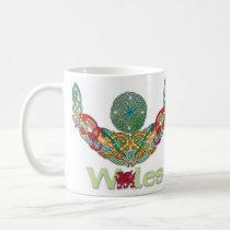 Wales Mug with Celtic Knotwork