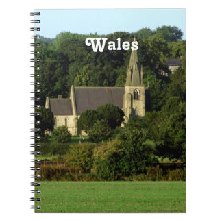 Wales Spiral Notebooks