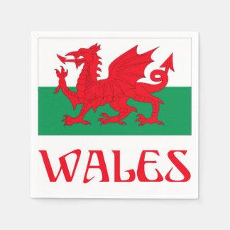 Wales Paper Napkin