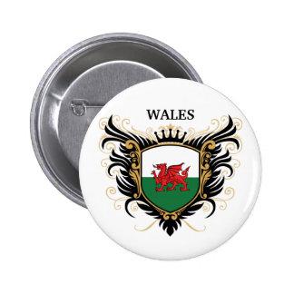 Wales [personalize] pinback button
