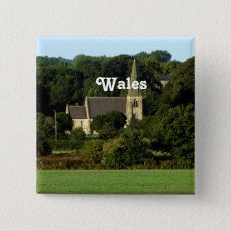 Wales Pinback Button