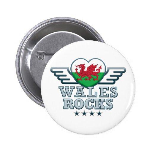 Wales Rocks v2 Button