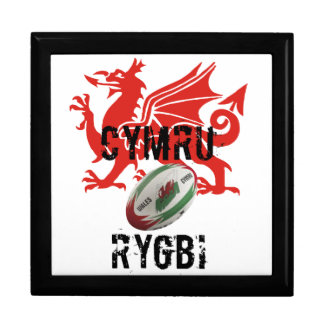 Wales Rugby Jewelry Box