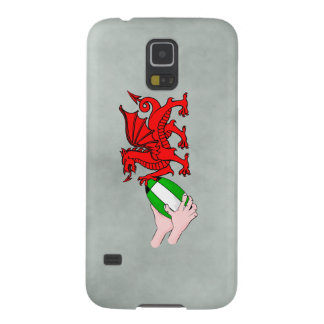 Wales Rugby Team  Dragon With Rugby Ball Galaxy S5 Case