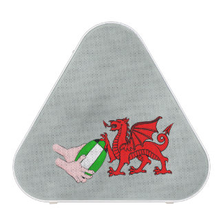Wales Rugby Team  Dragon With Rugby Ball Speaker
