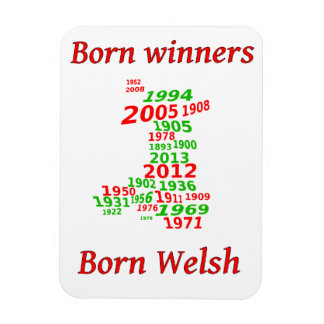 wales rugby winning years magnet