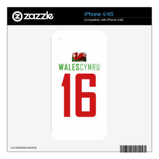 WALES SKIN FOR iPhone 4S