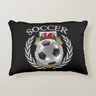 Wales Soccer 2016 Fan Gear Accent Pillow