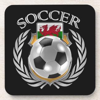 Wales Soccer 2016 Fan Gear Beverage Coaster