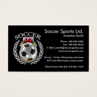 Wales Soccer 2016 Fan Gear Business Card