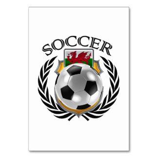 Wales Soccer 2016 Fan Gear Card