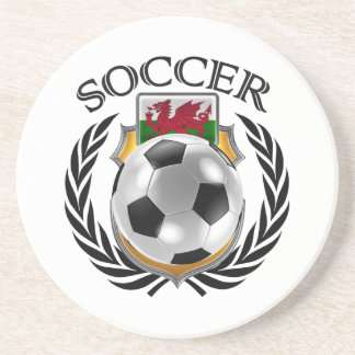Wales Soccer 2016 Fan Gear Drink Coaster