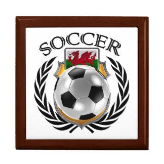 Wales Soccer 2016 Fan Gear Keepsake Box