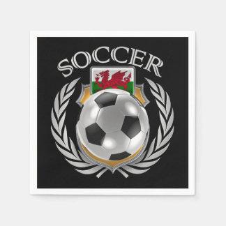 Wales Soccer 2016 Fan Gear Napkin