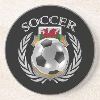 Wales Soccer 2016 Fan Gear Sandstone Coaster
