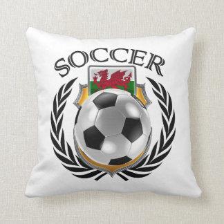 Wales Soccer 2016 Fan Gear Throw Pillow