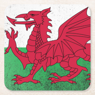 Wales Square Paper Coaster