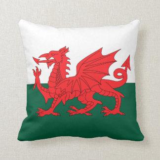 Wales Throw Pillow