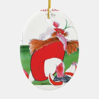 wales v england balls - from tony fernandes ceramic ornament