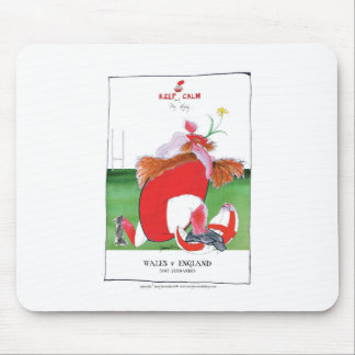 wales v england balls - from tony fernandes mouse pad