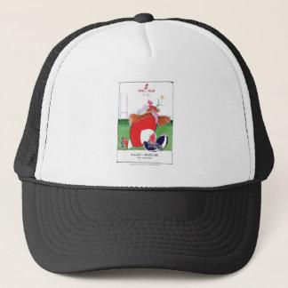 wales v scotland balls - from tony fernandes trucker hat