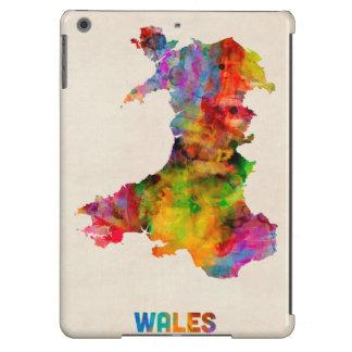 Wales Watercolor Map iPad Air Cover