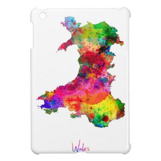 Wales Watercolor Map iPad Mini Cases