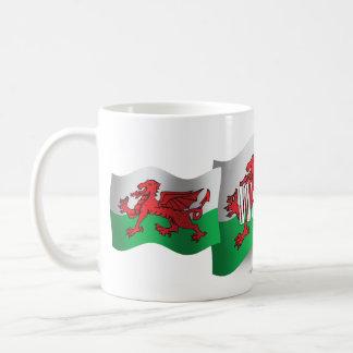Wales Waving Flag Coffee Mug