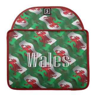 Wales Waving Flag MacBook Pro Sleeves