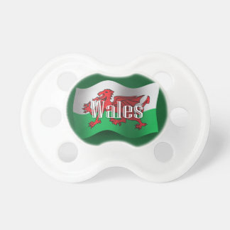Wales Waving Flag Pacifier