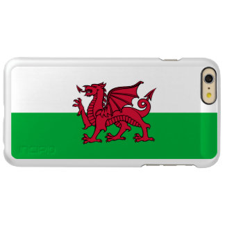 Wales Welsh Dragon Flag Incipio Feather Shine iPhone 6 Plus Case