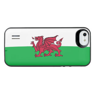Wales Welsh Dragon Flag iPhone SE/5/5s Battery Case