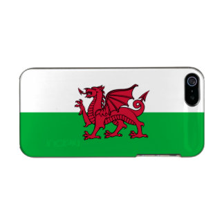 Wales Welsh Dragon Flag Metallic Phone Case For iPhone SE/5/5s